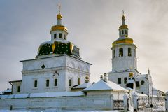 Abalak Le monastère de l'homme de Svyato-Znamensky Abalak Photo libre de droits