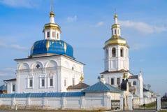 Abalak Monasterio del ` s del hombre de Svyato-Znamensky Abalak Imagen de archivo libre de regalías
