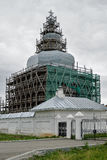 Abalak Restauration de temple sacré de Znamensky Images stock