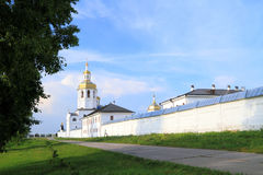 Abalaksky Piously-Znamensky man's monastery Stock Photo