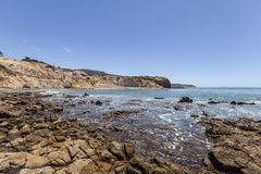 Free Abalone Cove Coast In Southern California Stock Photography - 57291622