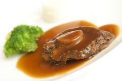 Abalone Dish at Restaurant Stock Photos