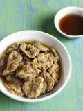 Abalone för Seitan vegetarianåtlöje Arkivfoton