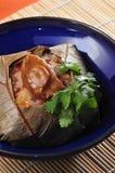 Abalone glutinous Dumpling Stock Images