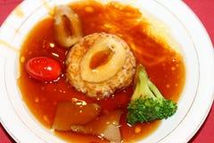Abalone Rice. Chinese dishes Abalone Rice,nourishing Stock Photo