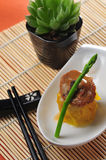 Abalone shumai Royalty Free Stock Photography