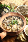 Abalone soup royalty free stock images