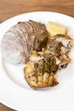 Abalone steak Stock Images