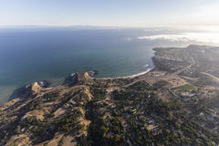 Abaloneliten vik flyg- Rancho Palos Verdes California arkivbilder