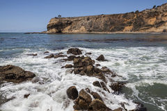 Abaloneliten vikvågor Royaltyfri Fotografi