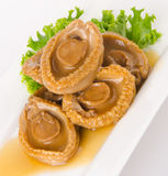 Abalones. Chinese cuisine abalone on background. Royalty Free Stock Photography