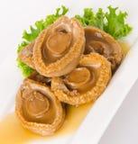 abalones Kinesisk kokkonstabalone på bakgrund Royaltyfri Fotografi