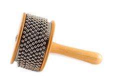 Abanador de Afuche Cabassa do instrumento de percussão Imagens de Stock