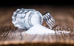 Abanador de sal imagem de stock