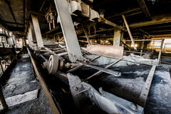 Abandoened Anthracite Coal Breaker - Pennsylvania Stock Photos