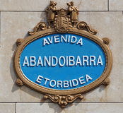 Abandoibarra Photo stock