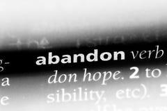 abandon Photos stock