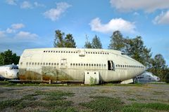 Abandon Airplane Stock Photos