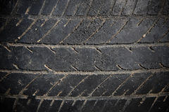 Abandon car tire texture Stock Photos