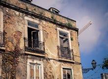 Abandon construisant Lisbonne Photo libre de droits