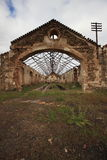 Abandon cooper mine Royalty Free Stock Photo