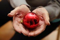 Abandon et seul à Noël Image libre de droits