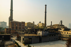 798 abandon Factory Royalty Free Stock Images