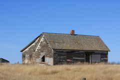 Abandon farm house Stock Photography