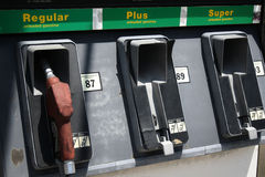 Abandon Gas Station. Photo shots of an abandon gas station stock photos