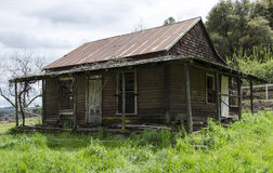 Abandon House. An abandon home in a rural location that is in disrepair stock photo