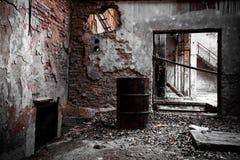 Abandon industrial interior Royalty Free Stock Photo