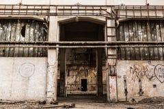 Abandon industrial interior Royalty Free Stock Image