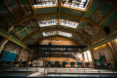 Abandon industrial interior Royalty Free Stock Images