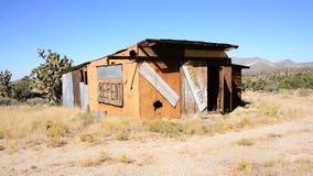 Abandon Mining Camp in the Mojave Desert stock video