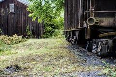 Abandon Rail Car Royalty Free Stock Photo
