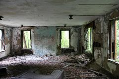 Abandon Room Royalty Free Stock Photography