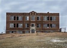 Abandon school Stock Image