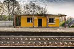 A abandon station Royalty Free Stock Images