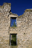 Abandon Stone Building Stock Photo