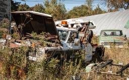 Abandon tow truck Stock Photography