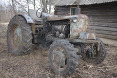 Abandon tractor Royalty Free Stock Image