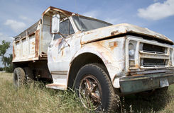 Abandon truck Stock Photo