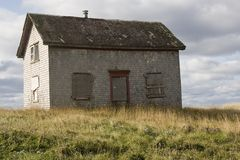 Abandon Wooden House Stock Image