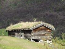 Abandonado caminando la cabina Fotografía de archivo