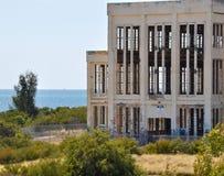 Abandonado: Casa del poder en Fremantle, Australia occidental Imágenes de archivo libres de regalías