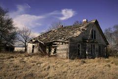 Abandonado a casa en Tennessee rural Foto de archivo