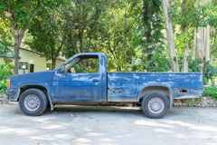 Abandonado coja el camión Fotos de archivo