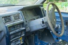 Abandonado coja el camión Fotos de archivo libres de regalías