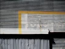abandonado, construcción, pintada Imagen de archivo libre de regalías