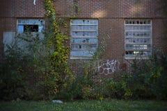 Abandonado construyendo 2 Foto de archivo libre de regalías